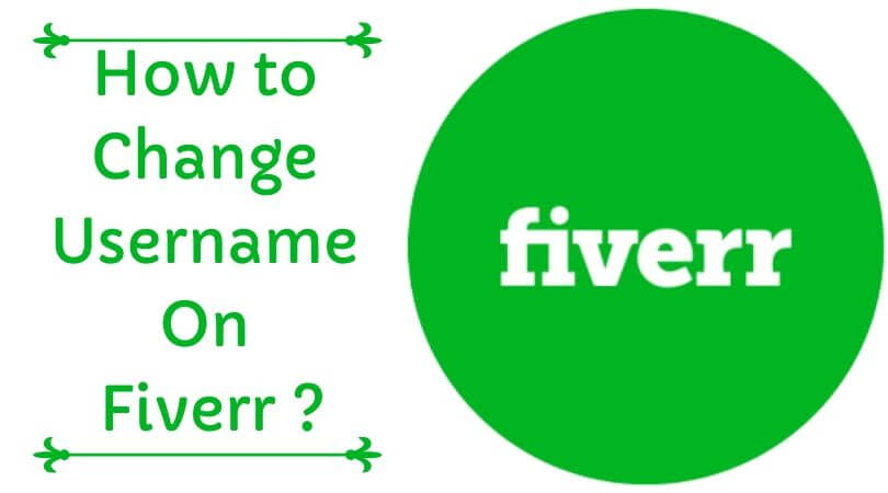 How to Change Username On Fiverr