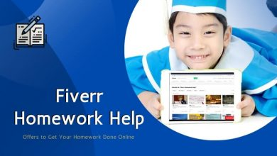 Photo of Fiverr Homework Help – Offers to Get Your Homework Done Online